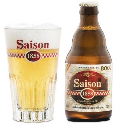 La Gauloise Saison 1858 - 0,33l fra Brasserie du Bocq