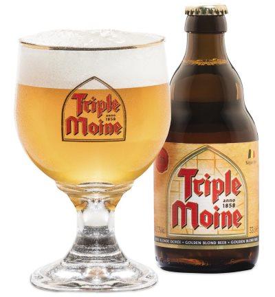 La Gauloise Triple Moine - 0,33l fra Brasserie du Bocq