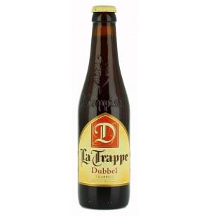 La Trappe Dubbel - 0,33 liter fra Brouwerij De Schaapskooi