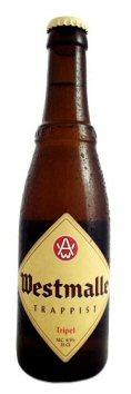 Westmalle Trapist Tripel - 0,33 liter fra Brouwerij Westmalle