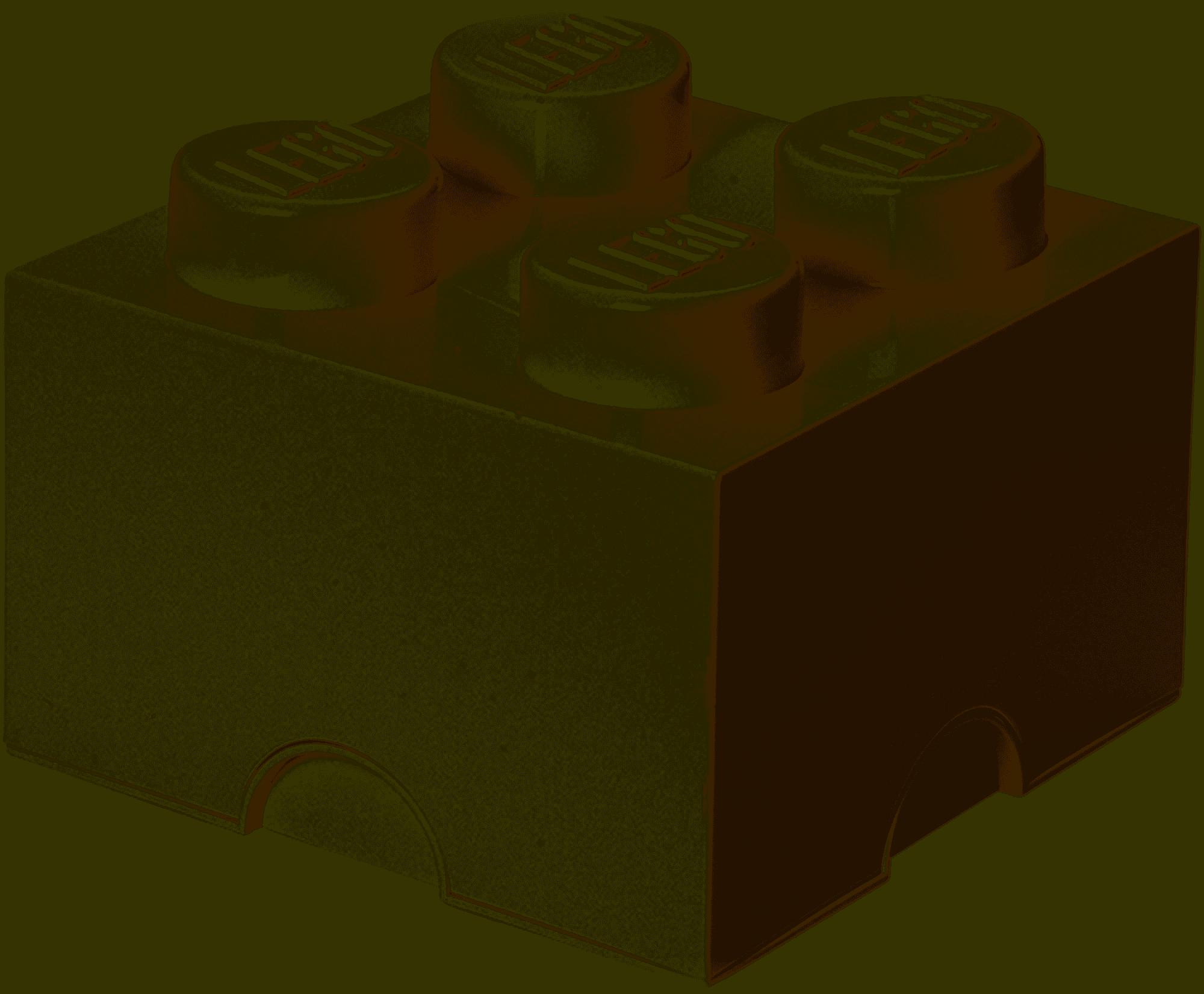 Rc40031735 Lego Opbevaringskasse 4 Hvid Billig