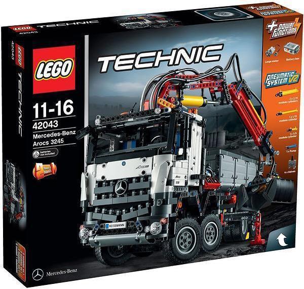 e9cfcf811d2 42043 - LEGO Technic Mercedes-Benz | Køb online | Billig